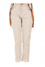 Manila Grace | Boyfriend jeans Kate cropped | grijs  | Afbeelding 1