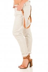 Manila Grace | Boyfriend jeans Kate cropped | grijs  | Afbeelding 4