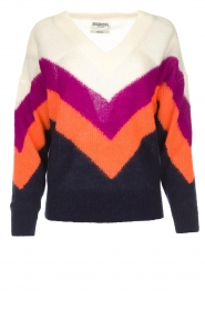 Essentiel Antwerp | Woolen sweater Annelies  | multi  | Picture 1