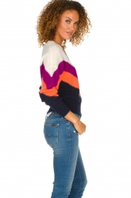 Essentiel Antwerp | Woolen sweater Annelies  | multi  | Picture 4