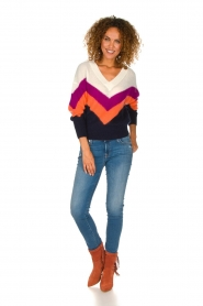 Essentiel Antwerp | Woolen sweater Annelies  | multi  | Picture 3