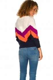 Essentiel Antwerp | Woolen sweater Annelies  | multi  | Picture 5
