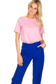 Essentiel Antwerp | T-shirt Iris | pink  | Picture 2