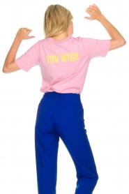 Essentiel Antwerp   T-shirt Iris   pink    Picture 5