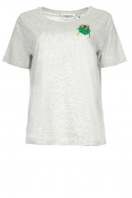 Essentiel Antwerp | T-shirt Amber | grey  | Picture 1