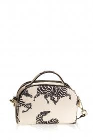 Essentiel Antwerp | Shoulder bag with print Iris | white  | Picture 4