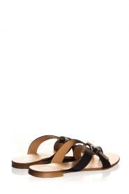 Essentiel Antwerp | Leather sandals Kirsty | black  | Picture 5