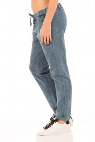 Hoss Intropia | Sweatpants Fenna | blauw  | Afbeelding 4