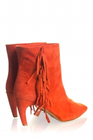 Janet & Janet | Suede boots Adele | red  | Picture 4