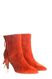 Janet & Janet | Suede boots Adele | red  | Picture 3