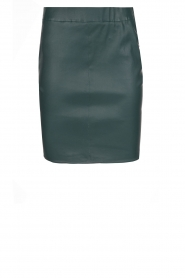 Dante 6 |  100% lamb leather skirt Love | green  | Picture 1