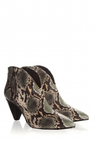 Janet & Janet | Leather ankle boots Nina | print  | Picture 4