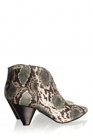 Janet & Janet | Leather ankle boots Nina | print  | Picture 5