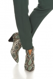 Janet & Janet | Leather ankle boots Nina | print  | Picture 3