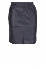Dante 6 |  Leather skirt Comet | blue  | Picture 1