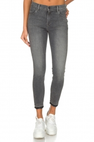J brand |  Cropped jeans Alana | Grey  | Picture 2