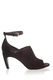 Janet & Janet | Leather sandals Adele | black  | Picture 1
