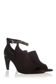 Janet & Janet | Leather sandals Adele | black  | Picture 4