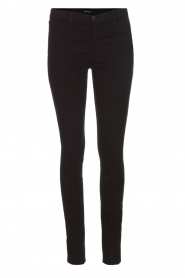 J brand | Super skinny broek Sateen | Zwart  | Afbeelding 1