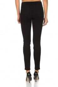 J brand | Super skinny broek Sateen | Zwart  | Afbeelding 5