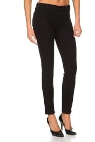 J brand | Super skinny broek Sateen | Zwart  | Afbeelding 4