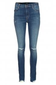 J brand | High rise skinny jeans Revoke | Blauw  | Afbeelding 1