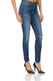 J brand | High rise skinny jeans Revoke | Blauw  | Afbeelding 4