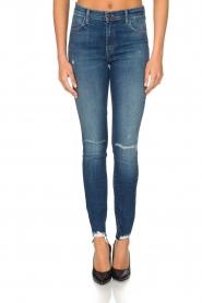 J brand | High rise skinny jeans Revoke | Blauw  | Afbeelding 2