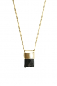 Mimi et Toi |  18k gold plated necklace Mylene | gold  | Picture 1