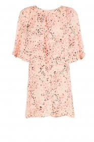 Hoss Intropia | Zijden jurk Della | roze  | Afbeelding 1