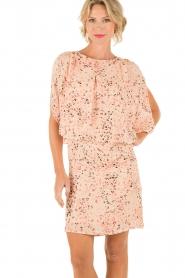 Hoss Intropia | Zijden jurk Della | roze  | Afbeelding 2