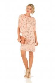Hoss Intropia | Zijden jurk Della | roze  | Afbeelding 3