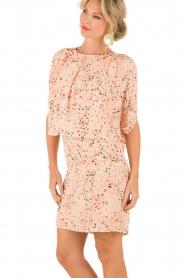 Hoss Intropia | Zijden jurk Della | roze  | Afbeelding 4
