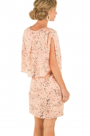 Hoss Intropia | Zijden jurk Della | roze  | Afbeelding 5