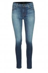 J brand | Mid rise jeans Jasper | Blauw  | Afbeelding 1