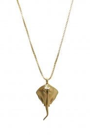 Mimi et Toi |  18k gold plated stingray necklace Ray | gold  | Picture 1