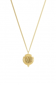 Mimi et Toi |  18k gold plated necklace Aurelie | gold  | Picture 1