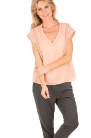 Hoss Intropia | Top Olivia | roze  | Afbeelding 2