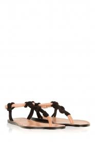 Hoss Intropia | Sandaal Lelanie | zwart  | Afbeelding 3