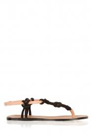 Hoss Intropia | Sandaal Lelanie | zwart  | Afbeelding 1