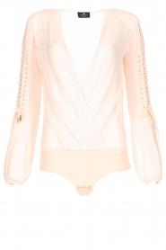 ELISABETTA FRANCHI | Body blouse Sierra | roze  | Afbeelding 1