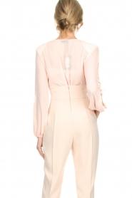ELISABETTA FRANCHI | Body blouse Sierra | roze  | Afbeelding 6