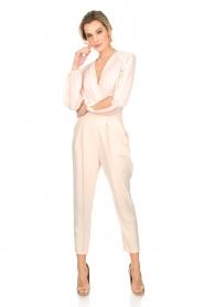ELISABETTA FRANCHI | Body blouse Sierra | roze  | Afbeelding 3