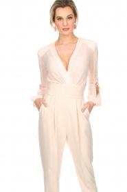 ELISABETTA FRANCHI | Body blouse Sierra | roze  | Afbeelding 2