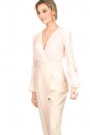 ELISABETTA FRANCHI | Body blouse Sierra | roze  | Afbeelding 5