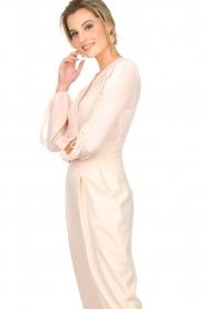 ELISABETTA FRANCHI | Body blouse Sierra | roze  | Afbeelding 4
