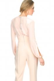 ELISABETTA FRANCHI | Body blouse Sierra | roze  | Afbeelding 7