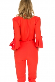 ELISABETTA FRANCHI |  Body blouse Sierra | red  | Picture 8