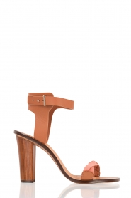 Leather pumps Icha | brown