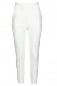 ELISABETTA FRANCHI | Pantalon Aimee | wit  | Afbeelding 1